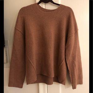 Madewell sweatshirt detail sweater